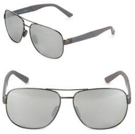 Gucci Mirrored Wayfarer Sunglasses