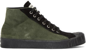 Comme des Garcons Green Spalwart Edition Sneakers