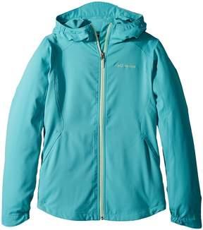 Columbia Kids Splash Flashtm II Hooded Softshell Jacket Girl's Coat