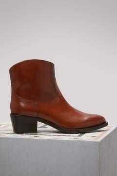Sartore Short Western Boots