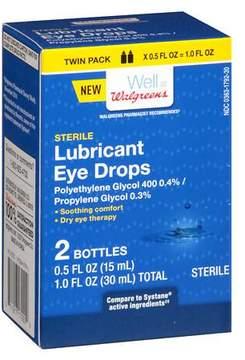 Walgreens Lubricant Eye Drops