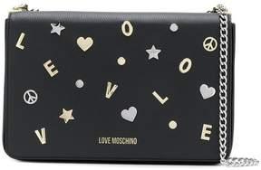 Love Moschino embellished crossbody bag