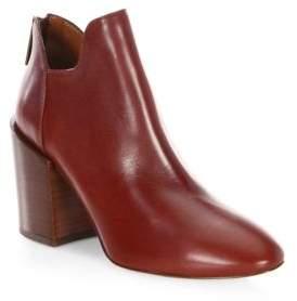 Aquatalia Francesca Leather Booties