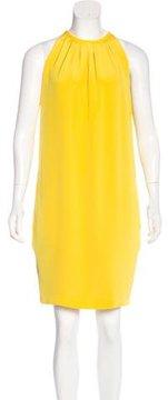 Celine Silk Knee-Length Dress
