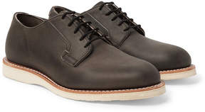 Red Wing Shoes Postman Leather Derby Shoes
