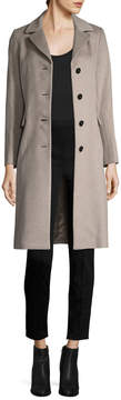 Cinzia Rocca Women's Notch Lapel Long Coat