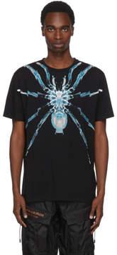 Marcelo Burlon County of Milan Black Spider T-Shirt