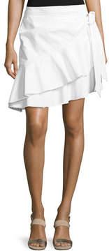 Cinq à Sept Tous Les Jours Anson Flared Denim Skirt