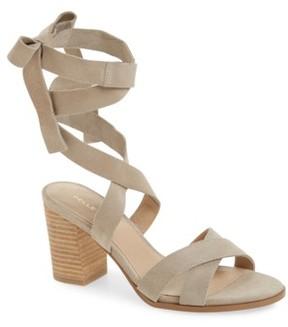 Pelle Moda Women's Bonjour Ankle Wrap Sandal