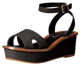Kensie Womens Tray Open Toe Casual Slingback Sandals.