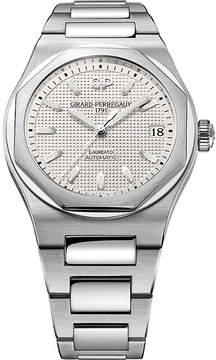 Girard Perregaux Girard-Perregaux 81010-11-131-11A Laureato stainless steel watch