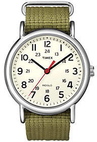 Timex Men's Olive Green Weekender Watch