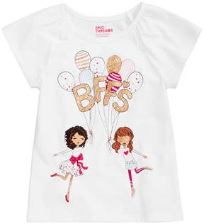 Epic Threads Mix and Match BFFs Graphic-Print T-Shirt, Little Girls (4-6X), Created for Macy's