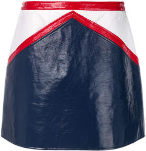 Courreges straight mini skirt