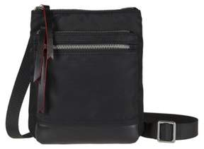Lodis Zora Rfid Nylon & Leather Crossbody Bag - Black