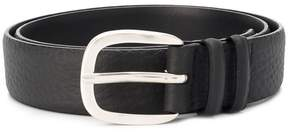 Orciani curved buckle belt