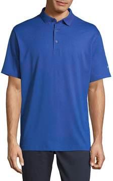 Callaway Men's Short Sleeve Heather Surf Polo Shirt