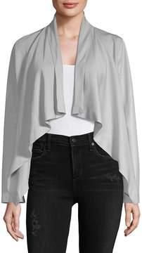 Bagatelle Women's Draped Hi-Lo Jacket