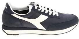 Diadora Men's Blue Fabric Sneakers.