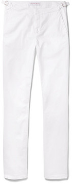 Orlebar Brown Campbell Slim-Fit Tapered Stretch-Cotton Twill Trousers