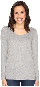 Alternative The Charmer Satin Jersey Top Women's Long Sleeve Pullover
