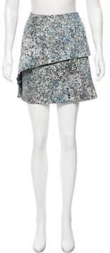 Cacharel Printed Mini Skirt