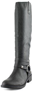 Style&Co. Style & Co Amber Boot Round Toe Synthetic Knee High Boot.