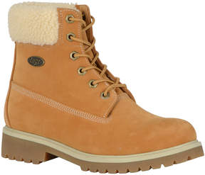 Lugz Convoy Fleece Womens Lace Up Boots