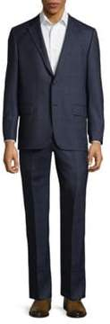 Hickey Freeman Milburn Series Wool Suit
