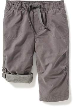 Old Navy Jersey-Lined Pull-On Hybrid Pants for Baby