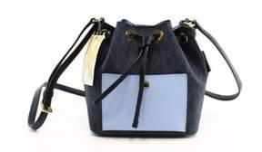 Michael Kors Baltic Sky Blue Greenwich Drawstring Bucket Shoulder Bag - BLUES - STYLE