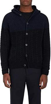 Barena Venezia Men's Wool-Blend Hooded Sweater