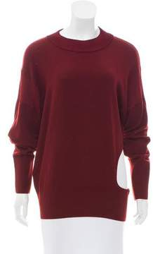 DKNY Cutout-Accented Wool Sweater w/ Tags