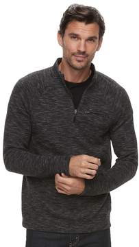Marc Anthony Big & Tall Men's Slim-Fit Marled Quarter-Zip Pullover