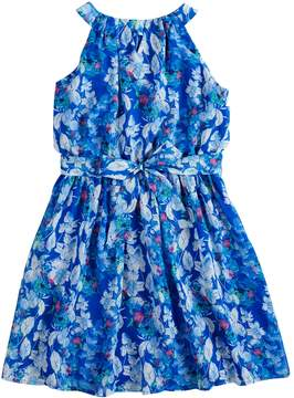 My Michelle Girls 7-16 Floral Pleated Dress