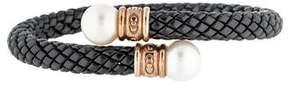 Chimento Pearl Ceramic Stretch Bracelet
