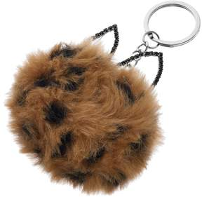 Mudd Cat Ears Pom Pom Key Chain