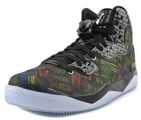 Jordan Air Spike Forty Bhm Men Round Toe Synthetic Black Sneakers.