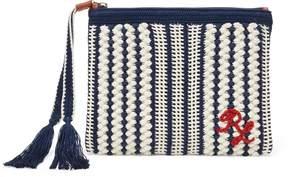 Ralph Lauren Crocheted Cotton Wristlet