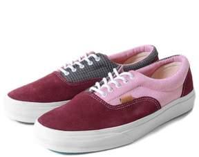 Vans Unisex Era CA C & P Sneakers Red M13 W14.5