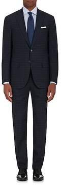 Isaia Men's Sanita Plaid Stretch-Wool Two-Button Suit