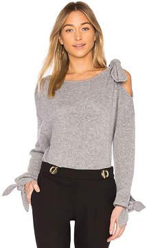 Derek Lam 10 Crosby Tie Detail Sweater
