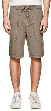 James Perse MEN'S WASHED COTTON POPLIN SHORTS