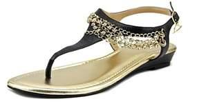 Thalia Sodi Zella Open Toe Synthetic Thong Sandal.