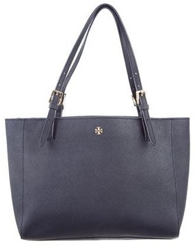 Tory Burch Small York Tote - BLUE - STYLE