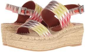 Missoni Double Band Flatform Women's Shoes