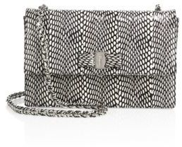 Salvatore Ferragamo Vara Ginny Medium Snakeskin Shoulder Bag