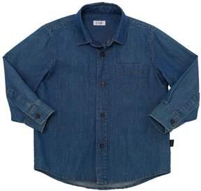 Il Gufo Cotton Chambray Shirt
