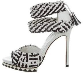 Camilla Skovgaard Woven Multistrap Sandals