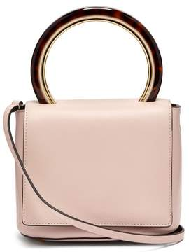 Marni Pannier Small Leather Bag - Womens - Light Pink